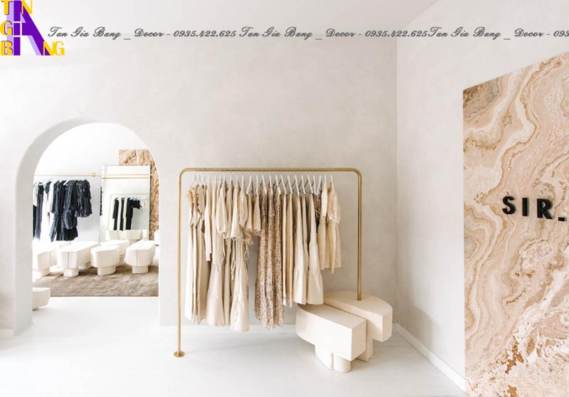 Thiết kế cửa hàng thời trang ở Kiên Giang