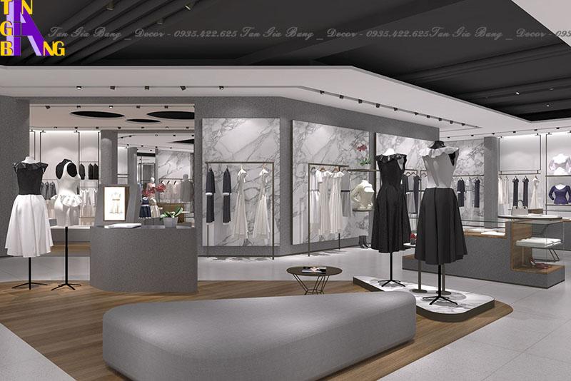 Thiết kế shop thời trang đẹp ở TP. Thủ Đức
