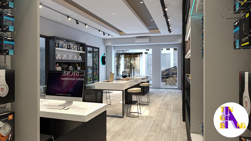 Thiết kế shop điện thoại chuyên nghiệp ở Kiên Giang