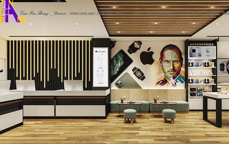 Thiết kế shop điện thoại đẹp và chuyên nghiệp tại Đồng Nai