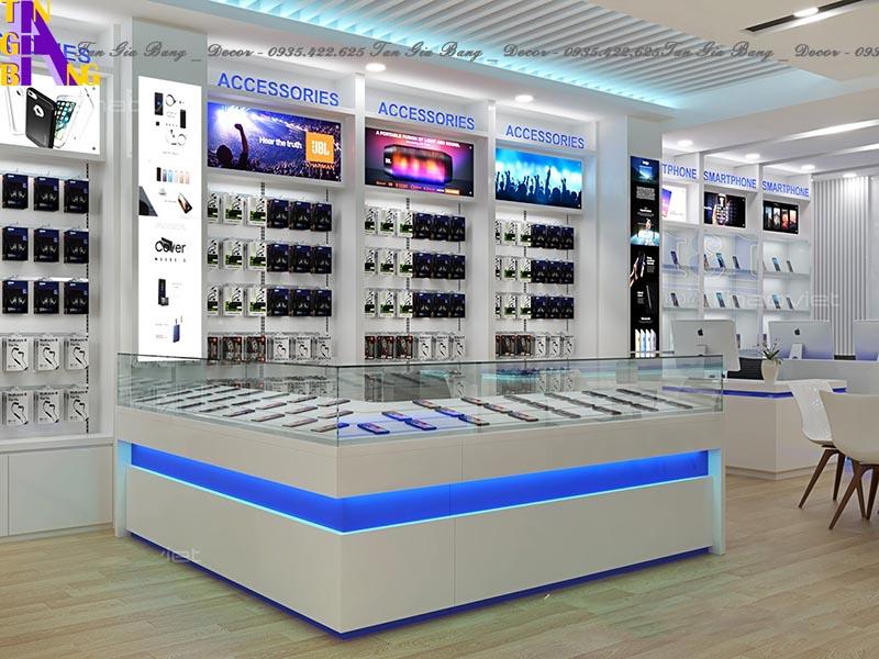 Thiết kế shop điện thoại đẹp ở Phú Yên