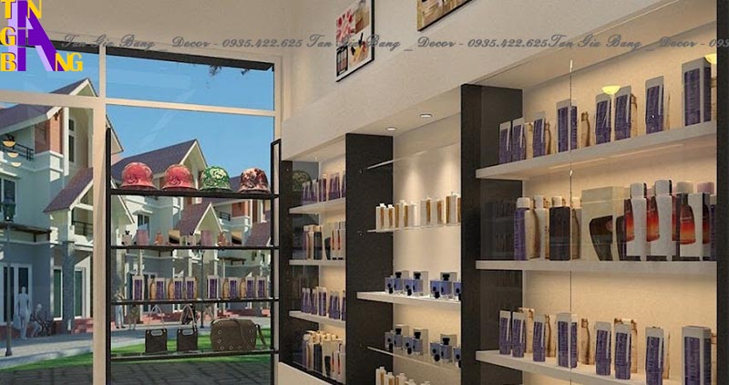 Thiết kế shop mỹ phẩm mini đẹp và chuyên nghiệp ở TP Vũng Tàu