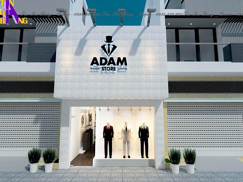 Thiết kế shop thời trang ADAM ở Phú Yên