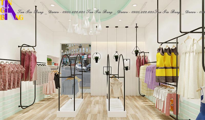 Thiết kế shop thời trang đẹp ở TP. Vũng Tàu