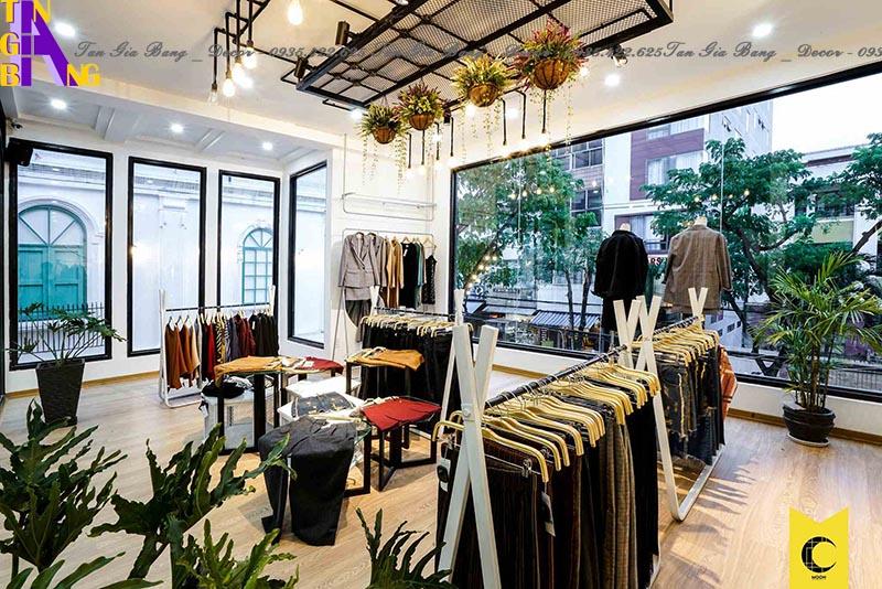 Thiết kế shop thời trang đẹp ở TP. Long Xuyên