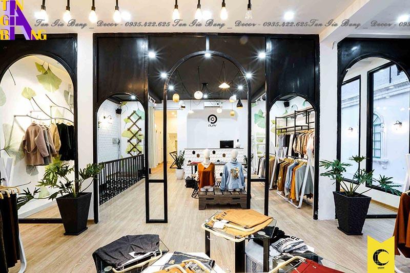 Thiết kế shop thời trang đẹp ở tỉnh An Giang