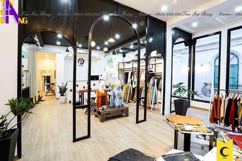 Thiết kế shop thời trang đẹp ở TP. Long Xuyên - An Giang