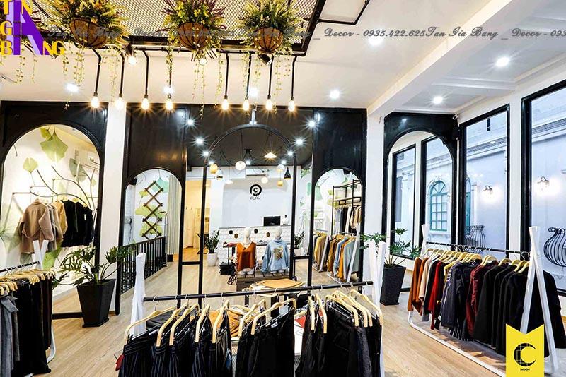 Thiết kế shop thời trang đẹp ở tại An Giang