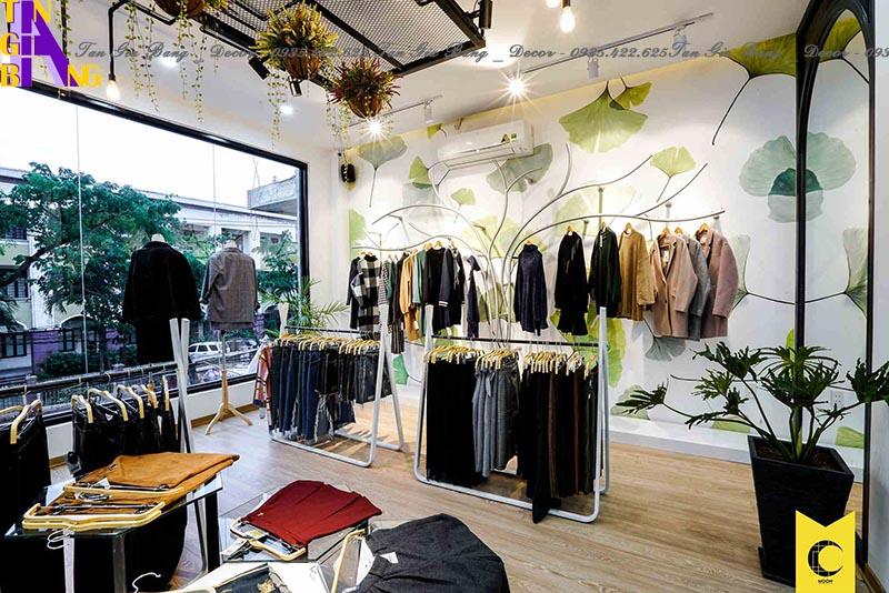 Thiết kế shop thời trang ở An Giang
