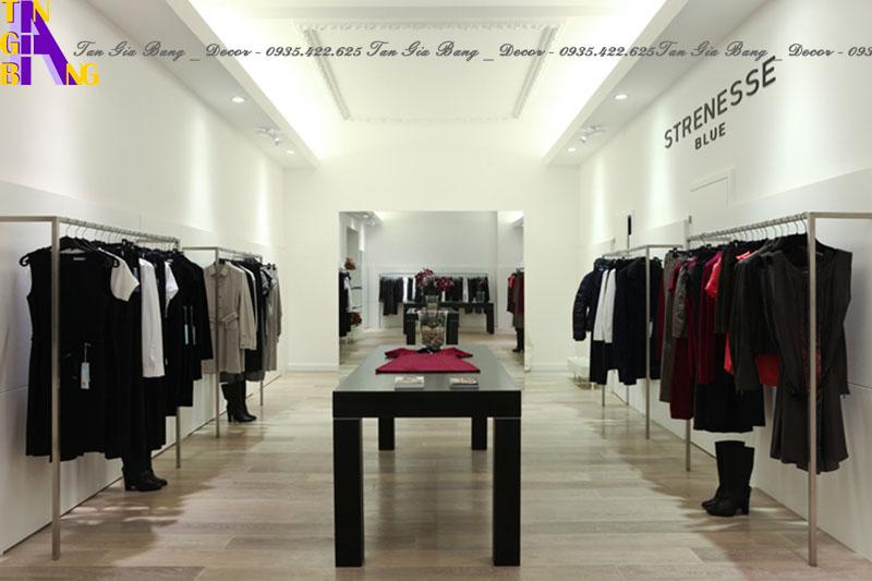 Thiết kế shop thời trang đẹp tại Vĩnh Long