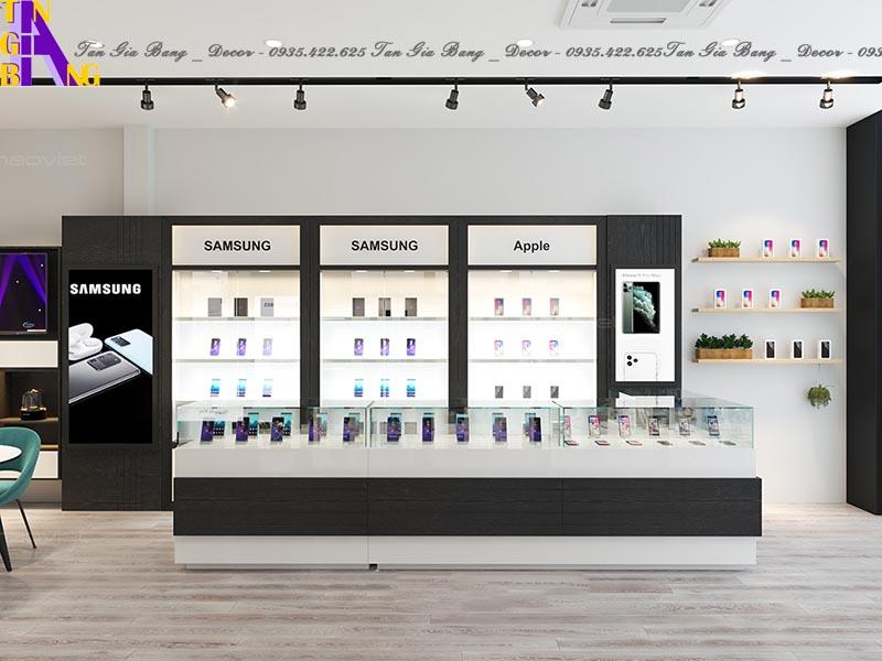 Thiết kế shop điện thoại đẹp và chuyên nghiệp ở Vũng Tàu