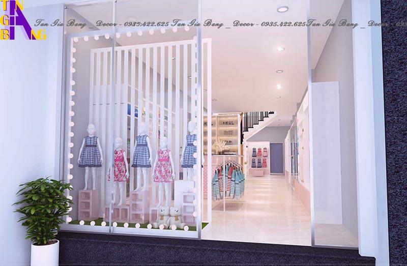 Thiết kế shop thời trang ở Ninh Thuận